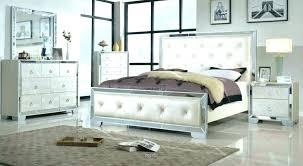 Bedroom Set With Mirror Headboard Image Of Mirrored Headboard ...