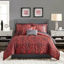 classic motif c damask bed in a bag