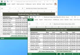 Need Two Excel Windows Side By Side On Different Monitors In The