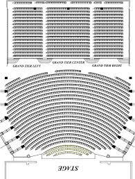 Seating Charts North Charleston Coliseum Performing Arts