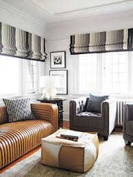 Image Grey Tufted Living Room With Leather Channel Tufted Sofa On Thou Swell thouswellblog Pinterest Home Decor Trend Forecast For 2017 Modern Home Decor Interior