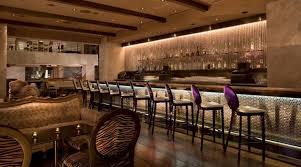 Contemporary Fine Diing Restaurant Interior Design of Nove Italiano, Las  Vegas Bar