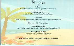 silent auction program template sample banquet programs masir endowed more agenda template business