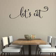 Us 945 5 Offwand Zitate Abziehbilder Lassen Sie Essen Küche Zitate Aufkleber Esszimmer Wandtattoos Vinyl Aufkleber Family Beschriftung Wand Kunst
