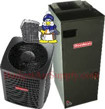 goodman 16 seer 3 ton. goodman 3 ton 16 seer dual stage (dsxc160361 + avptc49d14)*variable speed* air conditioning system