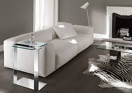 chrome side tables black and chrome furniture