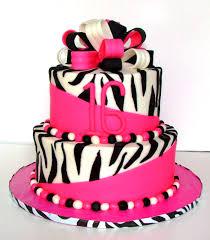 zebra birthday cake for teen girls. Contemporary Teen Teen Girl Birthday Cake In Zebra Colors Features Pink White And  Black For Girls B