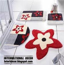 bathroom rugs and rug sets modern bathroom rug sets