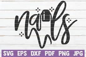 Available source files and icon fonts for both personal and commercial use. 20 Nail Artist Svg Designs Graphics