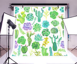 Details About 8x8ft Summer Green Plants Pattern Backdrops Vinyl Happy Birthday Background