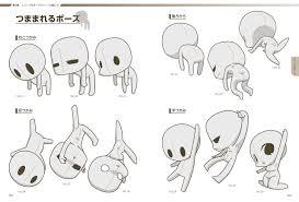 スーパーデフォルメポーズ集 チビキャラ編 マンガの技法書