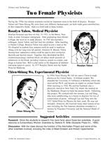 Top 15 Womens History Month Activities Teachervision