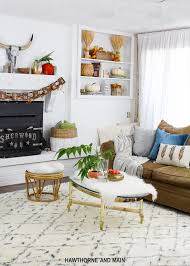 Where To Start When Decorating A Living Room Fall Living Room Refresh Hawthorne And Main