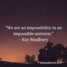 Ray Bradbury Quotes Amazing 48 Canny Quotes From Ray Bradbury Unbound Worlds
