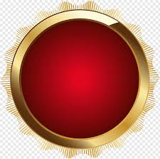Round Circle Design Round Red And Brown Logo Circle Design Product Seal Badge