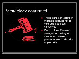 History of the Periodic Table The scientists behind the ...