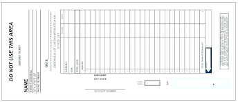Deposit Templates Withdrawal Slip Template Time And Material Ticket Template 5