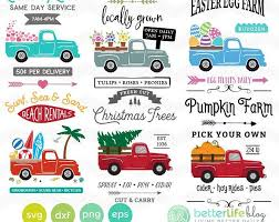 Free svg image & icon. Instant Download Christmas Digital Collage Sheet Printable Etsy Christmas Tree Truck Red Truck Decor Cricut