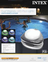 Intex Magnetic Pool Wall Light 110 120v