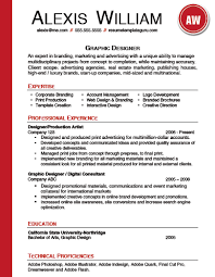 Ms Word Resume Template Resume Templates