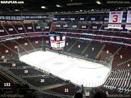 Nj Devils Seating Chart 3d Prudential Center Newark Arena Seat And Row Numbers Detailed