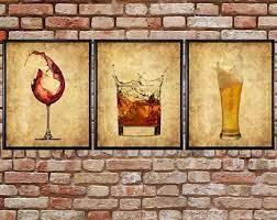 See more ideas about home bar decor, bar decor, decor. Bar Wall Art Etsy