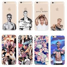 Justin Bieber Design Us 1 47 Fashion Justin Bieber Design Phone Cases For Apple Iphone X Se 5 5s 6 6s 7 8 Plus Transparent Plastic Back Cover Coque In Fitted Cases From
