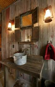 Rustic Bathroom Design Cool Inspiration Design