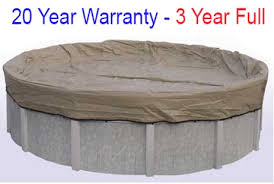above ground pool covers. 24 Round Above Ground Winter Pool Covers | 20 Year Warranty 3 Full BT0024 O
