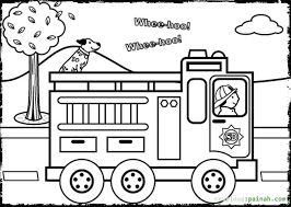 Small Picture Fire prevention coloring pages download and print for free