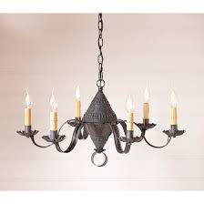 name concord punched tin chandelier