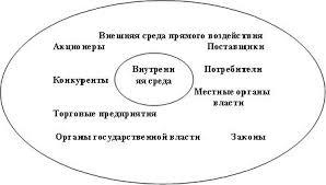Элементы внешней среды прямого воздействия микросреды деловой  Итак к элементам прямого воздействия внешней среды