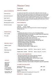 Sample Curriculum Vitae For Job Application Lawyer Cv Template Legal Jobs Curriculum Vitae Job Application
