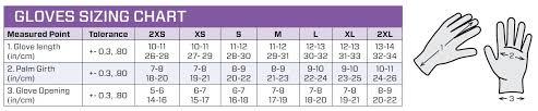 Dive Glove Size Chart Scuba Pro Size Chart Www Bedowntowndaytona Com