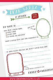 Super Cute Free Christmas Printable Letter To Santa Kids Christmas