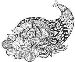 Small Picture Cornucopia More Art Zentangle Holiday Pinterest