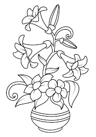 Clippedonissuu From Flower Coloring Pages Printable