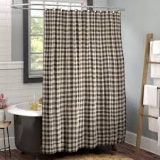 Beige shower curtains Natural Heidi Cotton Single Shower Curtain Wayfair Gray And Beige Shower Curtain Wayfair