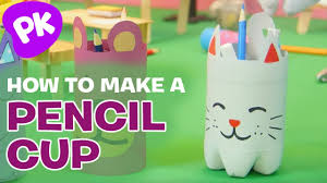 how to make a pencil cup holder easy crafts for kids diy craft ideas by superhands
