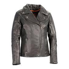 milwaukee leather women s lightweight long length beltless vented biker jacket the warming
