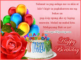 Birthday Message For Daddy Tagalog Best Happy Birthday Wishes