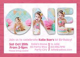 Birthday Card Sample Inspiration Photoshop Template First 48st One Birthday Invite Invitation Card
