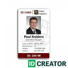 Employee Id Card 2 In 2019 Employee Id Card Id Card