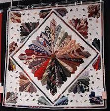 Craft Projects: Necktie Quilt