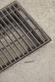trench drain concrete patio
