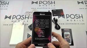 Posh Memo S580 Contact Us