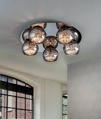 modern low ceiling chandelier