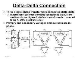 three phase transformer ppt lecture 11electro mechanical system1 delta delta connection  three single phase transformers connected delta