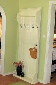Door Coat Rack Coat rack door Use for the old doors we have laying around that I 8