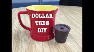 dollar tree diy how to use reusable keurig style coffee cup courtney val